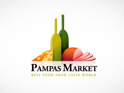 Pampas market