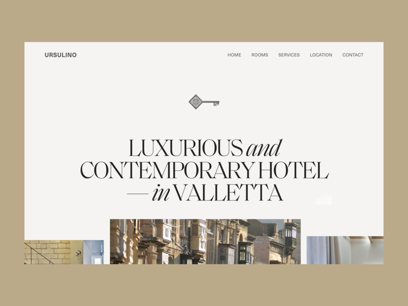Visual Concept for a Luxury Hotel