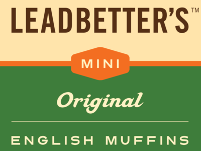 Leadbetter's Mini English Muffin Packaging