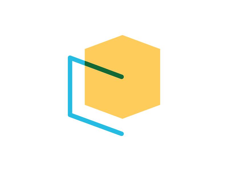 CO Architects Logo (WIP) architect co o c minimal cube identity branding logo architecture