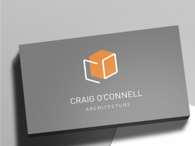 Craig O'Connell Architect Business Card