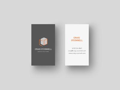 Craig O'Connell Architecture Brand Identity