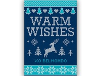 Belmondo Holiday (Sweater) Card 2018