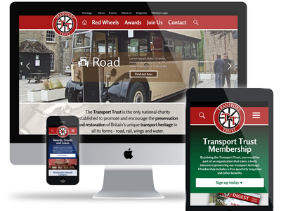 Transport Trust website