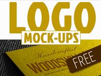 FREEBIE #2 / Photorealistic Logo Mock-ups (pack 1/3)