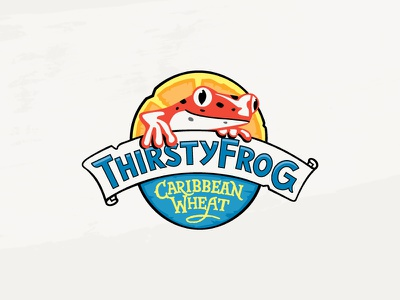 Thirsty Frog Caribbean Wheat frog beer booze cruise brewery