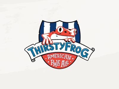 Thirsty Frog Pale Ale brewery frog booze cruise beer