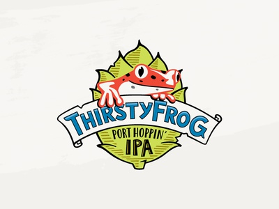 Thirsty Frog IPA brewery frog cruise booze beer