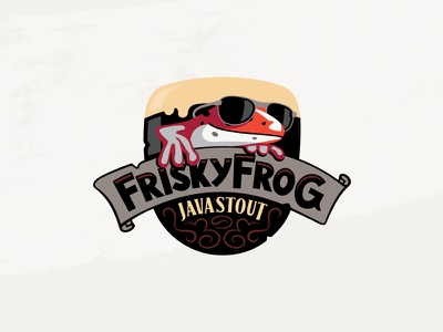 Thirsty Frog Java Stout stout frog cruise booze brewery beer