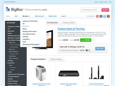e-Commerce Deal Site