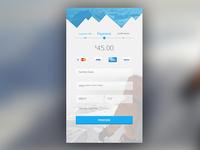 Daily UI #002 - Credit Card Screen