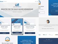 Sales Hacker Learning Platform  for Skaled x Sales Hacker