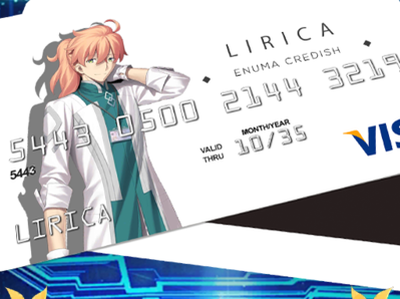 F/GO Spoof CE: Enuma Credish design credit card item spoof fategrand order