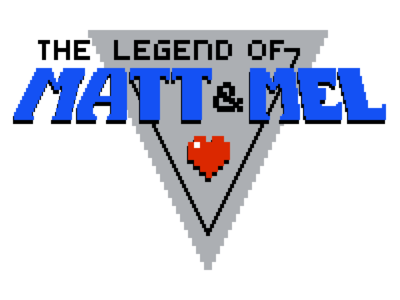 8bit Wedding Logo