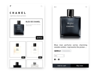 Shopping application interface