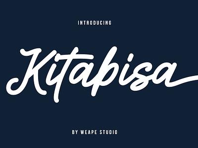 Kitabisa Monoline Script monogram logo minimalist monoline logotype illustration typedesign branding type design calligraphy font hand lettering typography lettering