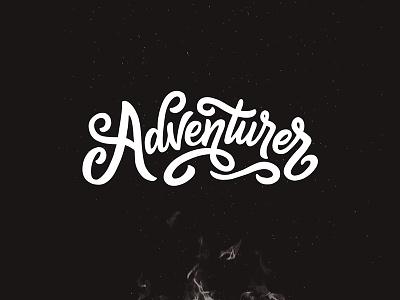 Adventure Awaits ! logo maker typewritter logo font logotype script font type typography lettering hand lettering