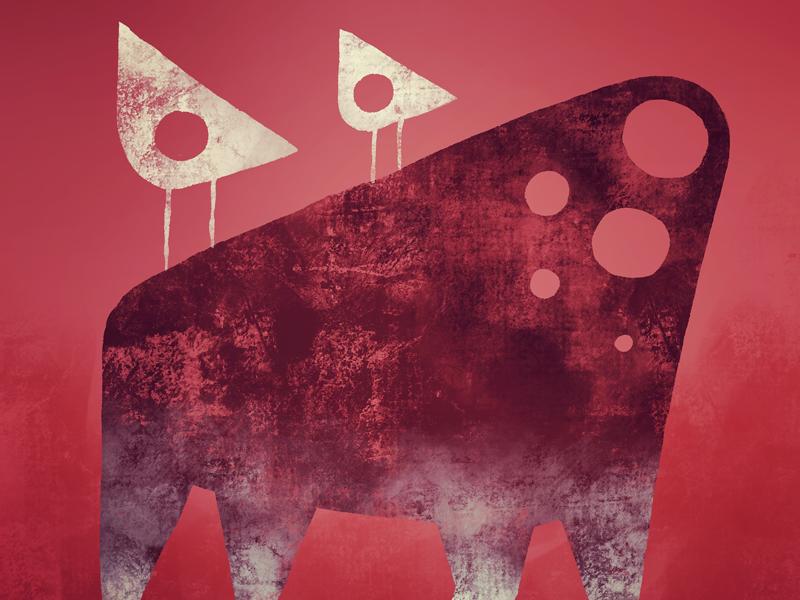Template heads digital procreate illustration