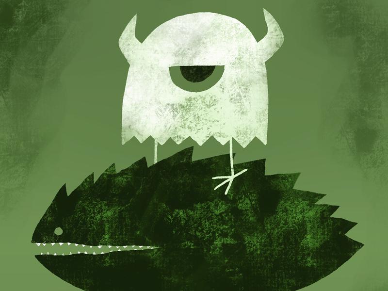 jealousy digital procreate illustration