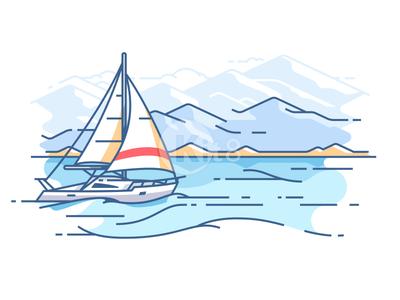 Kit8 / Projects / Line illustrations   Dribbble
