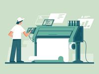 Print to printer