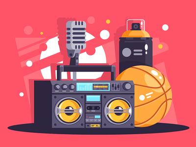Hip-hop equipment