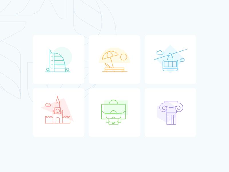 OSIG-Icons for website design web design landing page landing iconography icon design icon set icons web