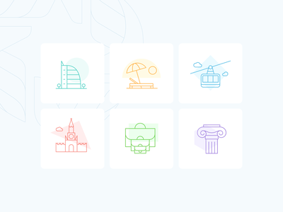 OSIG-Icons for website design web design landing page landing iconography icon design icon set icons web