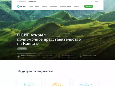 OSIG - Website animation landing page design site animation site web design website ui design ux ui  ux landing page web animation animation web
