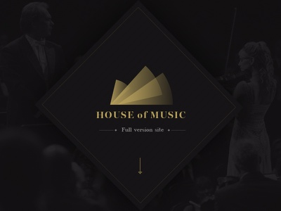 """House of Music"" - Full Version resposive design mobile site responsive mobile ux ui"