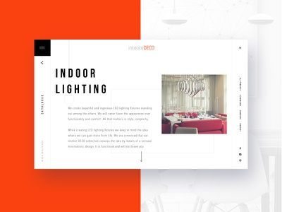 Indoor Lighting interior design interior white site web site white ui.minimalism ux