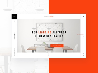 Home Page ux ui.minimalism white site web white site interior interior design