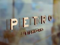 Signage for Petro Filmworks