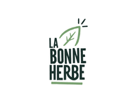 'La bonne herbe' Logotype