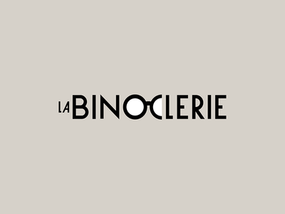 La Binoclerie french typorgraphy eyeglasses eyewear france logotype logo