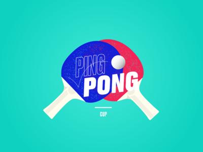 Logo Ping Pong Cup