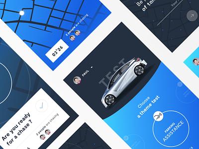 Renault car app connected car map test blue ux ui app car renault