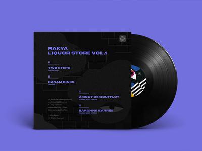 Rakya Liquor Store Vol.1 - Artwork Back cover