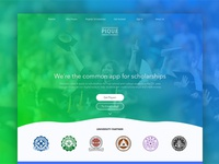 Pique - Landing Page + Other pages