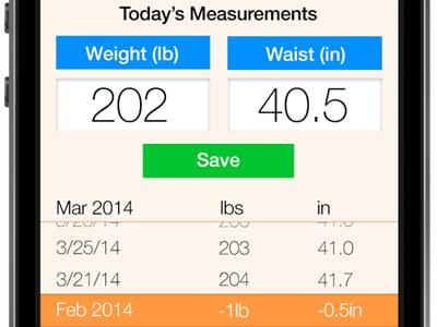 Health App Redesign health app redesign simple
