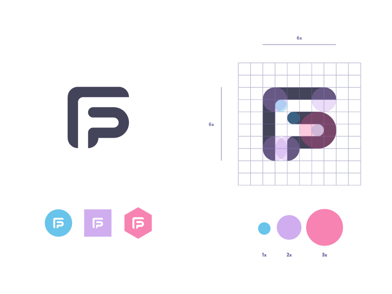 Filip Pietroń - Self branding re-revisioned logowork logo revisioned branding self pietron filip