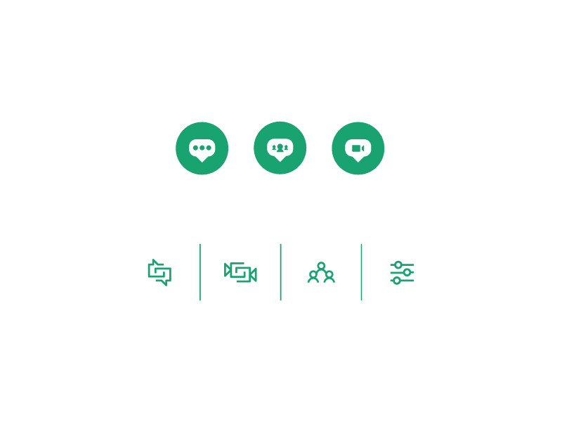 Piper Chat - Icons #1 piper chat silicon valley chat material design floating action button fab