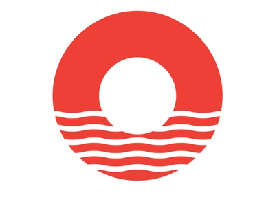 Bled Adventures identity design minimal branding wave circle logo logo design