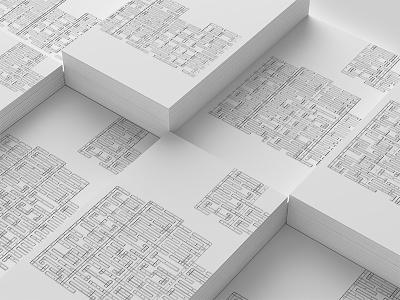 Had Maze typography celan minimal pattern font typography labyrinth maze logo identity
