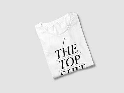 TheTtop Shit minimal brand tshirt