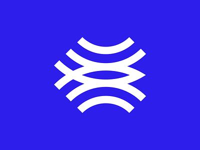 Streamlee fish wifi stream identity design minimal branding logo