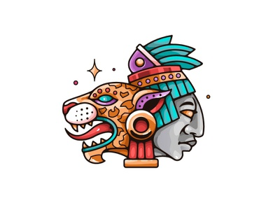 Dualidad ilustracion draw badge logo ilustration ilustrator design mexico illustration vector