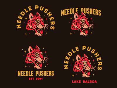 Needle pushers logo