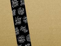 Typography Tape