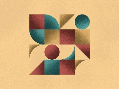 Geometric Texture grain poster texture abstract shapes geometric